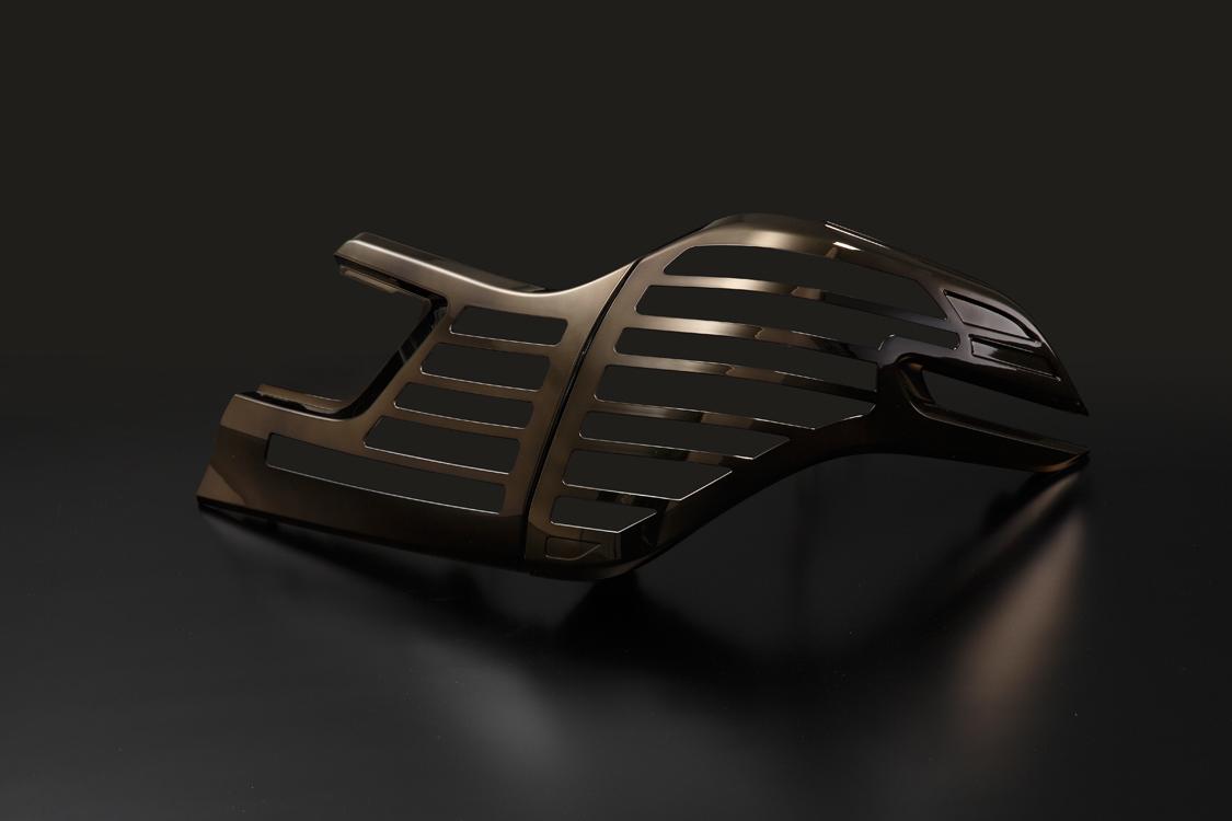 METEO メテオ LEDテールランプ専用 ブロンズメッキカバー TY-VE30H-GC 【TOYOTA 30系 ヴェルファイア】