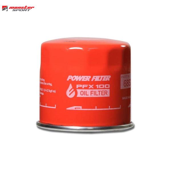 買い物 Monster Sport モンスタースポーツ PFX100 オイルフィルター EJ20-T 新作 1~2001 レガシィB4 5 1999