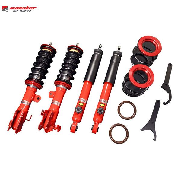 [Monster Sport] モンスタースポーツ 車高調整サスペンションセット アルトワークス HA36S 15.12~ 4WD