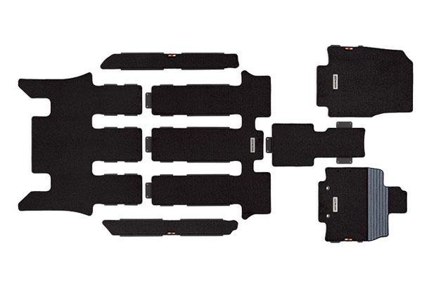 [無限] スポーツマット ブラック 2列目キャプテンシート ステップワゴン RP1 RP2 RP3 RP4 15/4~