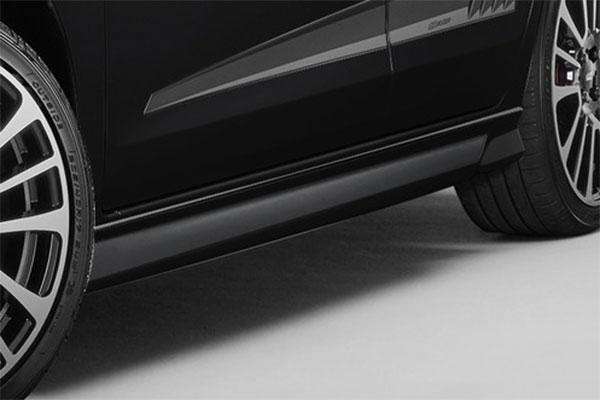 [無限] サイドスポイラー for Dash クリスタルブラック・パール フィット GR1 GR2 GR3 GR4 20/2~ ※北海道・沖縄・離島は都度確認 ※個人宅&ホンダディーラー配送不可