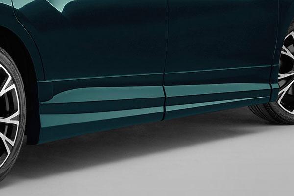 [無限] サイドガーニッシュ フォレストグリーン・パール ステップワゴン RP3 RP4 RP5 17/9~ ※北海道・沖縄・離島は都度確認 ※個人宅&ホンダディーラー配送不可