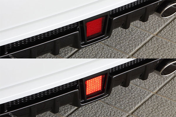 M'z SPEED LEDバックフォグランプキット プリウスα ZVW40W ZVW41W 11/5~14/10 MC前 ※北海道は送料2160円、沖縄・離島は要確認