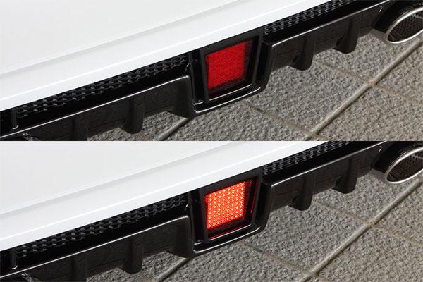 M'z SPEED LEDバックフォグランプキット プリウスα ZVW40W ZVW41W 14/11~ MC後 ※北海道は送料2160円、沖縄・離島は要確認