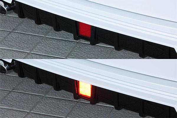 M'z SPEED LEDバックフォグランプキット ヴォクシー ZRR80W ZRR85W ZWR80W 14/1~17/7 MC前 ZS/ハイブリッドZS他 ※北海道は送料2160円、沖縄・離島は要確認