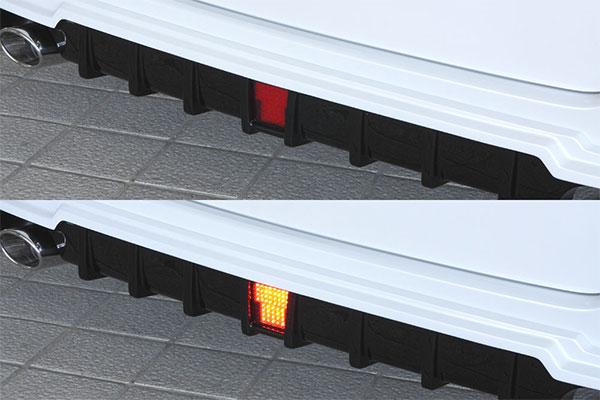 M'z SPEED LEDバックフォグランプキット ヴォクシー ZRR80G ZRR85G ZWR80G 14/1~17/7 MC前 V/X/X他 Cパッケージ/ハイブリッドV/ハイブリッドX他 ※北海道は送料2160円、沖縄・離島は要確認