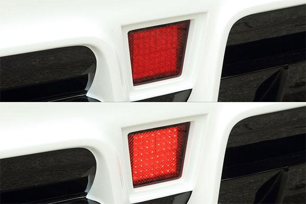 M'z SPEED LEDバックフォグランプキット アルファード アルファードハイブリッド ANH20W ANH25W GGH20W GGH25W ATH20W 11/11~14/12 MC後 純正リアフォグランプ付車除く ※北海道は送料2160円、沖縄・離島は要確認