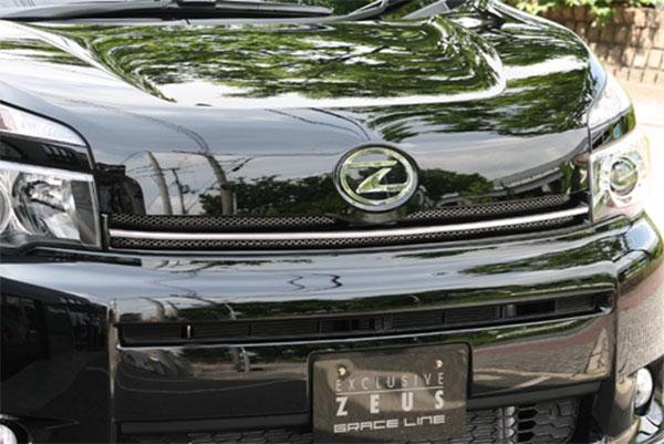 ヴォクシー ※北海道は送料4500円(税別)、沖縄・離島は要確認 MC後 ※個人宅は送料+3000円(税別) ブラック ZRR75G M'z SPEED フロントグリル V/X/トランスX他 塗装済品 10/4~13/12 ZRR70G