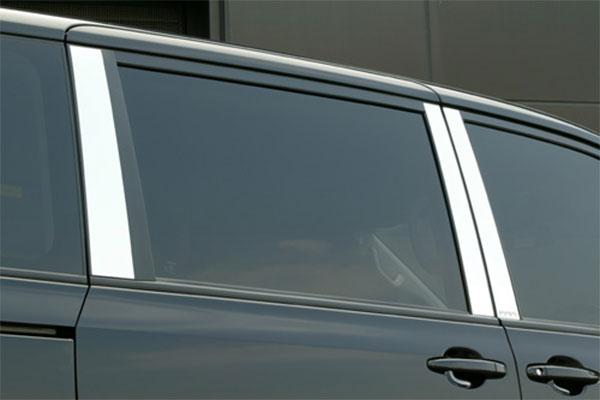 M'z SPEED ステンレスピラーリフレクター ノア ZRR70W ZRR75W 07/6~10/3 MC前 Si/S他 ※北海道は送料2000円(税別)、沖縄・離島は要確認