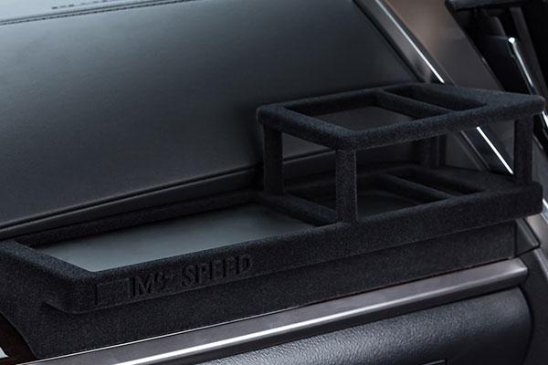 M'z SPEED 助手席用フロントテーブル スエード調仕上げ アルファード AGH30W AGH35W AYH30W GGH30W GGH35W ※北海道は送料2000円(税別)、沖縄・離島は要確認