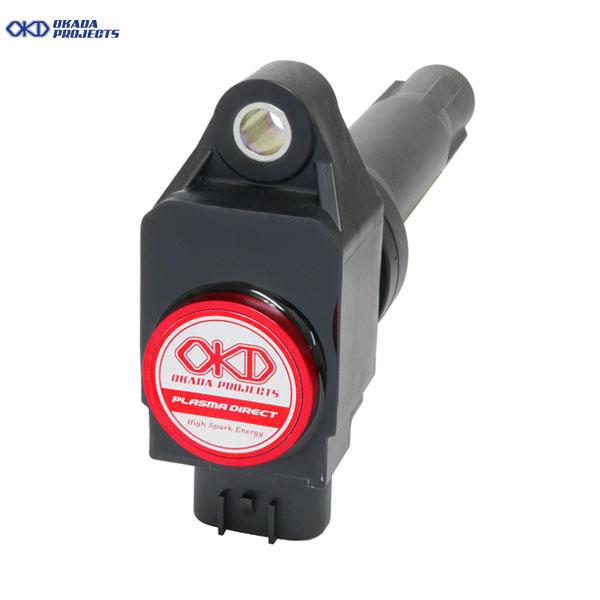 全域で効果を発揮する 最高峰のハイパワーイグニッションコイル OKADA PROJECTS 全商品オープニング価格 ファッション通販 プラズマダイレクト ジムニー R06A JB64W H30.7- 660