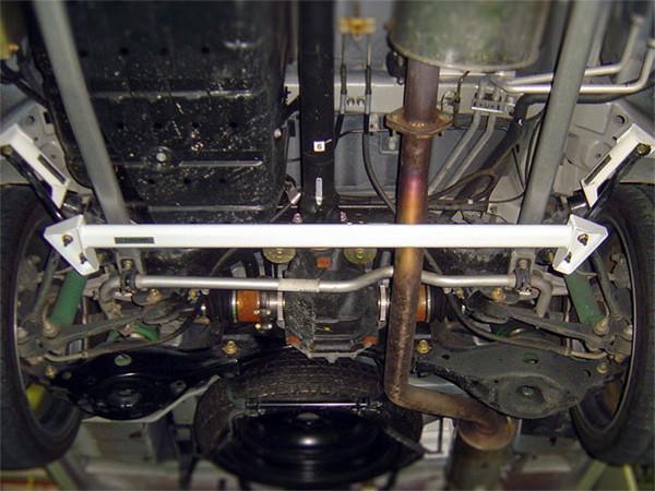 OKUYAMA オクヤマ ロワアームバー リア タイプI スチール製 エルグランド E51 ME51 NE51 MNE51