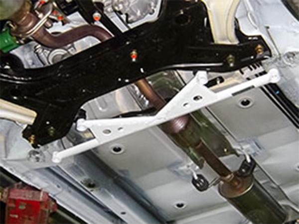 OKUYAMA オクヤマ ロワアームバー フロント タイプII スチール製 コルト ラリーアート バージョンR Z27AG