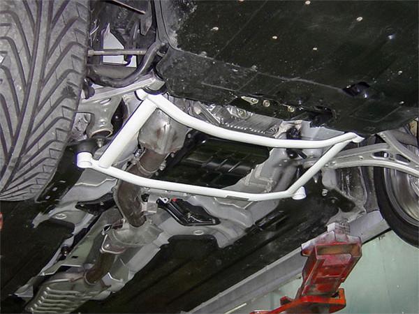 OKUYAMA オクヤマ ロワアームバー フロント タイプII スチール製 レガシィ B4/ツーリングワゴン BL5 BP5 ターボ車