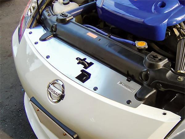 OKUYAMA オクヤマ ラジエタークーリングプレート アルミ製 フェアレディZ Z33 前期専用