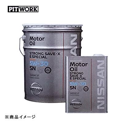 PITWORK ピットワーク ガソリンエンジンオイル SNストロングセーブ・X Eスペシャル 【20Lペール】 粘度:5W-30