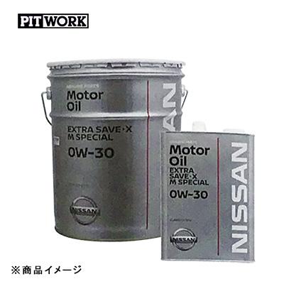 PITWORK ピットワーク ガソリンエンジンオイル エクストラセーブ・X Mスペシャル 【20Lペール】 粘度:0W-30