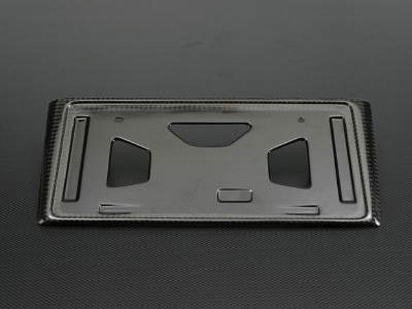 TGS カーボンライセンスホルダー タイプ D:5 リア デリカD:5 CV1W CV2W CV4W CV5W