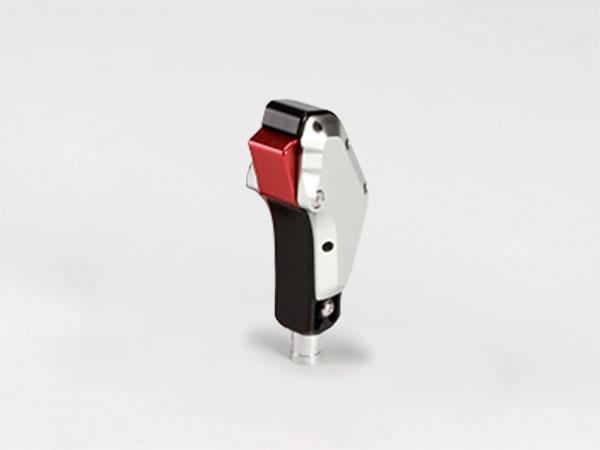 TGS ビレットシフター(ガングリップタイプ) シルバー/ブラック エクリプスクロス GK1W GK9W