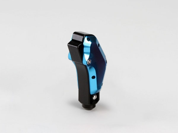 TGS ビレットシフター(ガングリップタイプ) M8汎用タイプ ブルー/ブラック