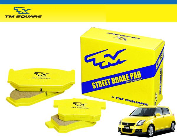 TM SQUARE スイフトスポーツ ZC31S TMストリート ブレーキパッド フロント&リアセット