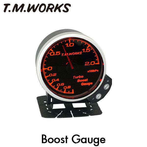 一歩進んだBoost Gaugeここに誕生!  T.M.WORKS ブーストゲージ 2.5Kpa表示モデル BMW 3シリーズ (F30/F31/F34) DBA-3A30DBA-3X30 (N55) 335i