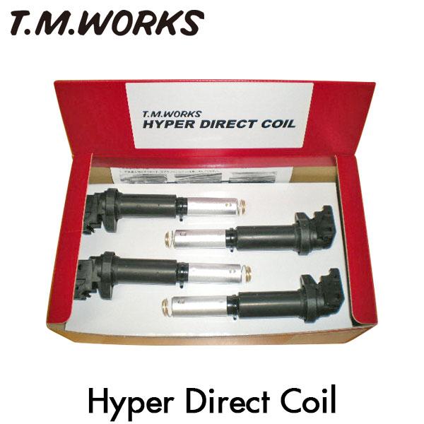 T.M.WORKS ハイパーダイレクトコイル&インサイドイグナイトレブ セット プジョー 207 A75FW 07~