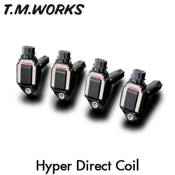 T.M.WORKS ハイパーダイレクトコイル インプレッサ GD2 GD3 EJ15 06/7~07/5 DOHC