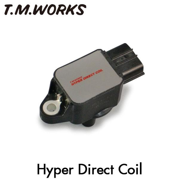 T.M.WORKS ハイパーダイレクトコイル スマート スマートフォーツークーペ 451331 451332 451333 451138 3B21 08/6~ DOHC/DOHCターボ