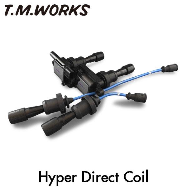 T.M.WORKS ハイパーダイレクトコイル ランサーエボリューション4 CN9A 4G63 96/8~97/12 DOHCターボ