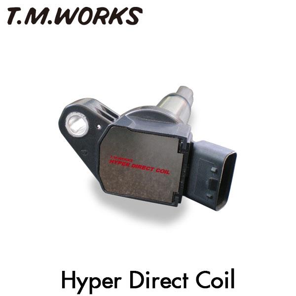 T.M.WORKS ハイパーダイレクトコイル ヴィッツ NCP13 1NZ-FE 99/1~05/1 純正コイル品番 90919-02240/90919-02265/90080-19021/90919-T2003