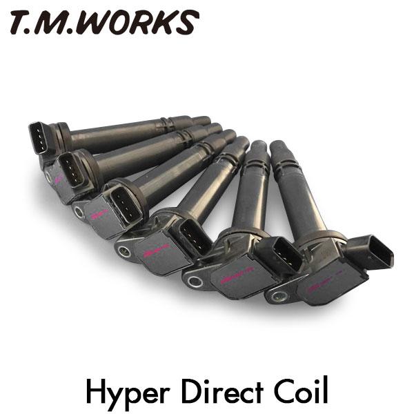 T.M.WORKS ハイパーダイレクトコイル マークX GRX130 GRX131 4GR-FSE 09/10~ 純正コイル品番 90919-02250/90919-02256