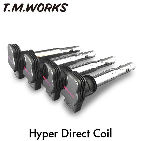 T.M.WORKS ハイパーダイレクトコイル フォルクスワーゲン シロッコ CDL 10~ R 2.0Lターボ
