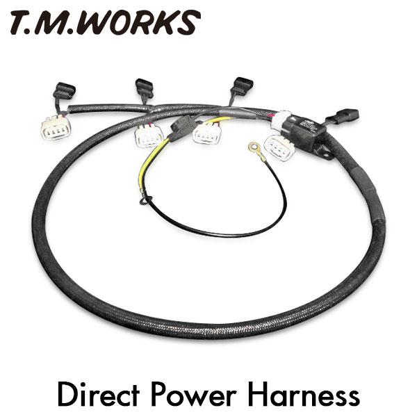 常に安定した電圧をイグニッションコイルに供給 T.M.WORKS ダイレクト パワーハーネスキット フリード+ハイブリッド フリードハイブリッド クリアランスsale 登場大人気アイテム 期間限定 GB8 GB7 09~ 16 LEB