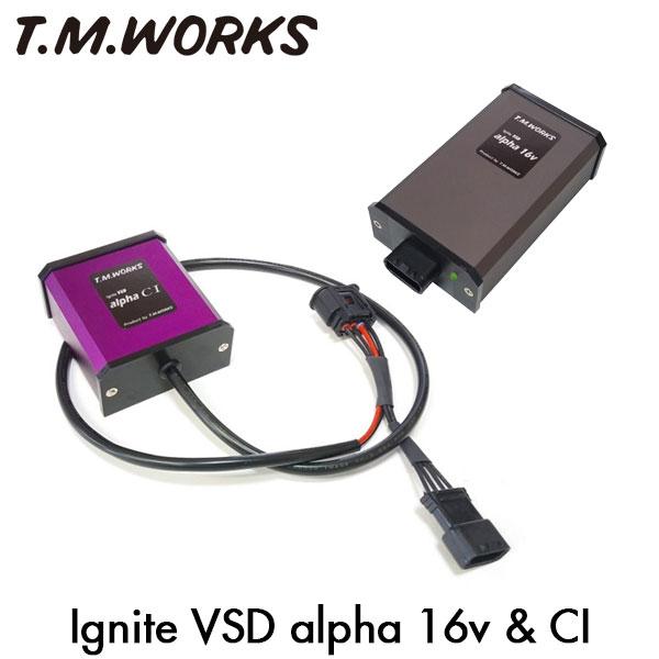 T.M.WORKS イグナイトVSD アルファ16V&CI セット プジョー 207 A75FX 07~