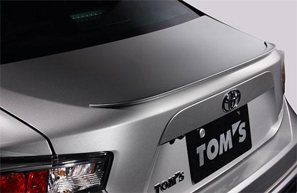 TOM'S トランクリッドスポイラー クリスタルブラックシリカ(D4S) 86 ZN6 2016/7~ 全グレード 個人宅配送不可 沖縄・離島は送料着払い