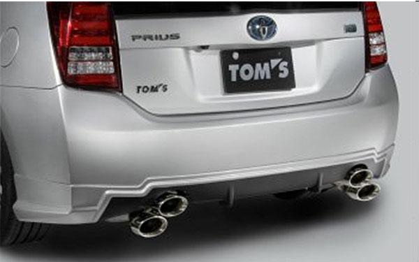 [TOM'S] トムスバレル プリウス ZVW30 H21.5~H26.5 2ZR-FXE テール120φ 個人宅配送不可 沖縄・離島は送料着払い