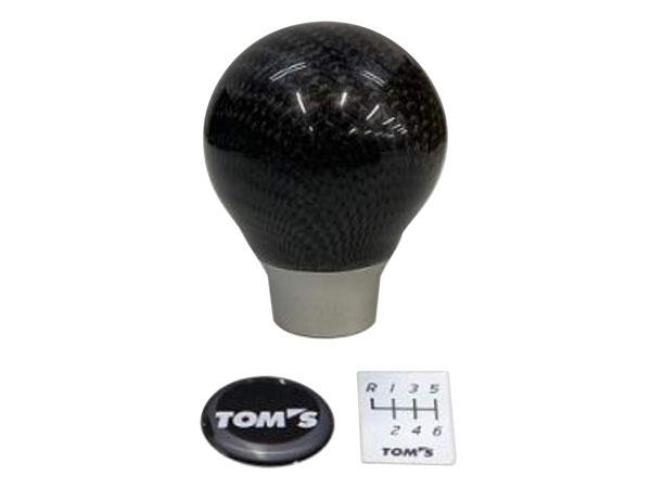 [TOM'S] トムス カーボンシフトノブMT 86 ZN6 H28.7~ 後期 MT車 沖縄・離島は要確認