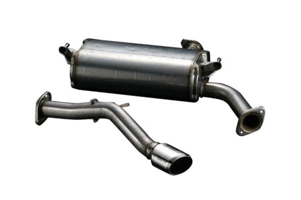 TRD ハイレスポンスマフラーVer.S サイレンサー&テールパイプセット エスティマ ACR50W 06/01~16/06 G、X(純正用品リヤバンパースポイラー装着車のみ)、アエラス