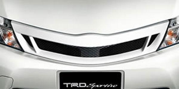 TRD フロントグリル (交換式) 素地(未塗装) カローラフィールダー NKE165G 12/05~15/03 ハイブリッド車