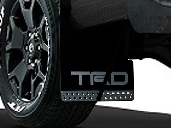 TRD マッドフラップ ブラック ハイラックス GUN125 17/09~ 除くオーバーフェンダー付車
