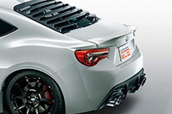 TRD リヤトランクスポイラー クリスタルホワイトパール(K1X) ハチロク ZN6 16/07~ 除くHigh Performance Package(メーカーオプション)付車