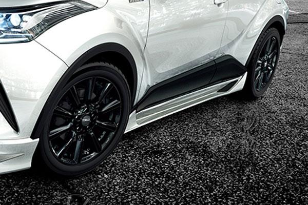 TRD サイドスカート 素地(未塗装) C-HR NGX50 ZYX10 16/12~19/10 除くマッドフラップ(511)付車