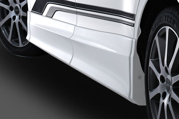 TRD サイドスカート 素地(未塗装) エスクァイア ZRR80G ZRR85G ZWR80G 17/07~ 除くドアエッジプロテクター(純正用品)付車