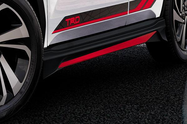 TRD サイドスカート ライズ A200A A210A 19/11~ 除くサイドスキッドプレート付車、マッドガード(フロントセット)付車
