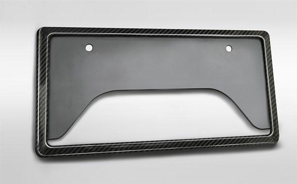 TRD GRカーボンナンバーフレーム フロント用 ヤリス MXPH10 MXPH15 MXPA10 MXPA15 KSP210 20/1~ 除くLEDサイドライト(ナンバーフレーム付)(純正用品)付車、字光式ナンバープレート付車