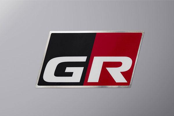 TRD GRディスチャージテープ 大4枚 C-HR NGX10 ZYX11 19/10~ GRスポーツ