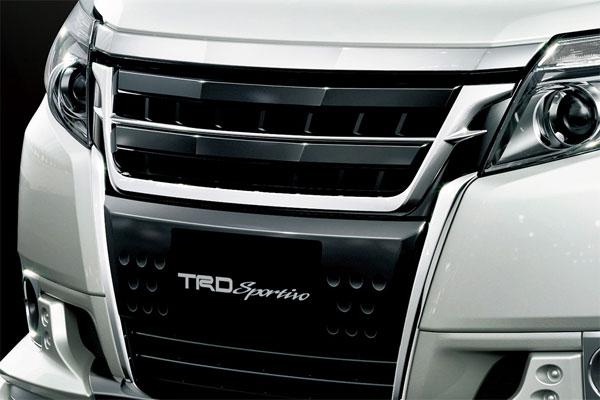 TRD フロントグリル&ガーニッシュ エスクァイア ZRR80G ZRR85G ZWR80G 14/10~17/06