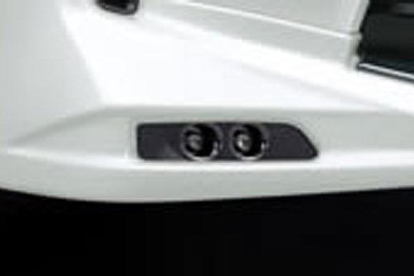 TRD TRDフロントスポイラー専用 LEDデイタイムランプセット ヴェルファイア ANH20W ANH25W GGH20W GGH25W 11/10~15/01 V/X 除くハイブリッド車