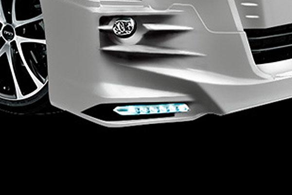 [TRD] スポイラーガーニッシュ LED付 アルファード AGH30W AGH35W GGH30W GGH35W AYH30W 15/01~17/12 除くLEDフロントガーニッシュセット(純正用品)、LEDスタイリッシュビーム(純正用品)付車